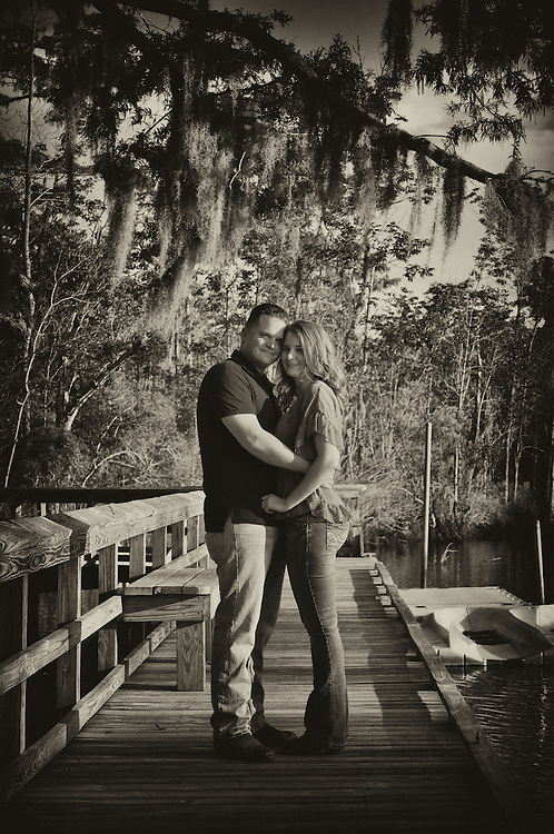 Dustin and Michelle Engagement | Photographers in New Bern NC