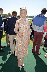 CIARA CHARTERIS at the St.Regis International Polo Cup at Cowdray Park, Midhurst, West Sussex on 16th May 2015.