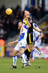 Stuart Sinclair of Bristol Rovers challenges for the header with Lee Frecklington of Rotherham United  - Mandatory by-line: Dougie Allward/JMP - 02/12/2017 - FOOTBALL - Memorial Stadium - Bristol, England - Bristol Rovers v Rotherham United - Sky Bet League One