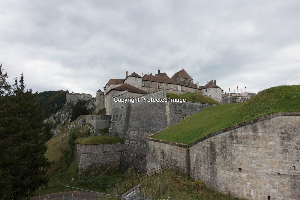 Doubs Joux castle area