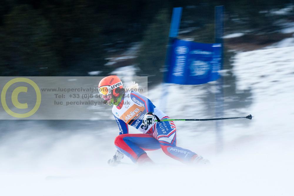 GALLAGHER Kelly, GBR, Super Combined, 2013 IPC Alpine Skiing World Championships, La Molina, Spain
