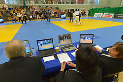 Behind The Scenes, 2016 Visually Impaired Judo Grandprix, British Judo, Birmingham, England