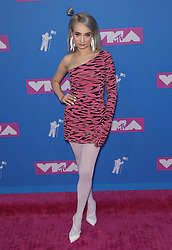 August 21, 2018 - New York City, New York, USA - 8/20/18.Kim Petra at the 2018 MTV Video Music Awards at Radio City Music Hall in New York City. (Credit Image: © Starmax/Newscom via ZUMA Press)