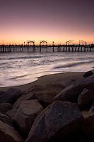 Redondo Beach Pier at Sunset, California