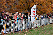 Runners compete in the 2015 NCAA Division-1 Cross Country Championships in Louisville, Kentucky on Saturday, November 21, 2015.