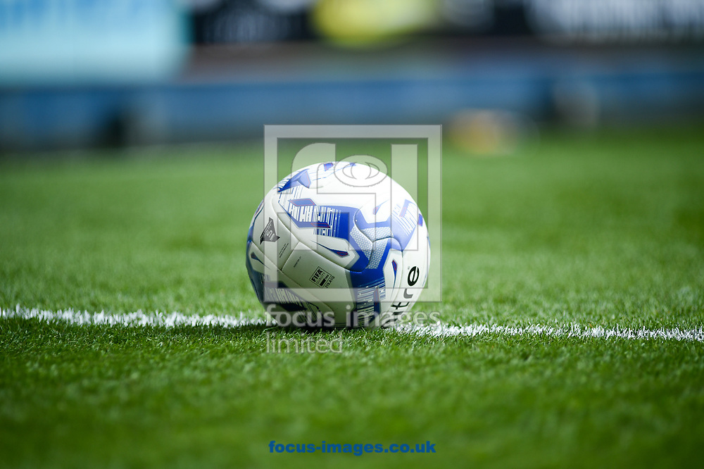 A stray ball ready for Ipswich Town and Birmingham City during the Sky Bet Championship match at Portman Road, Ipswich<br /> Picture by Hannah Fountain/Focus Images Ltd 07814482222<br /> 01/04/2017