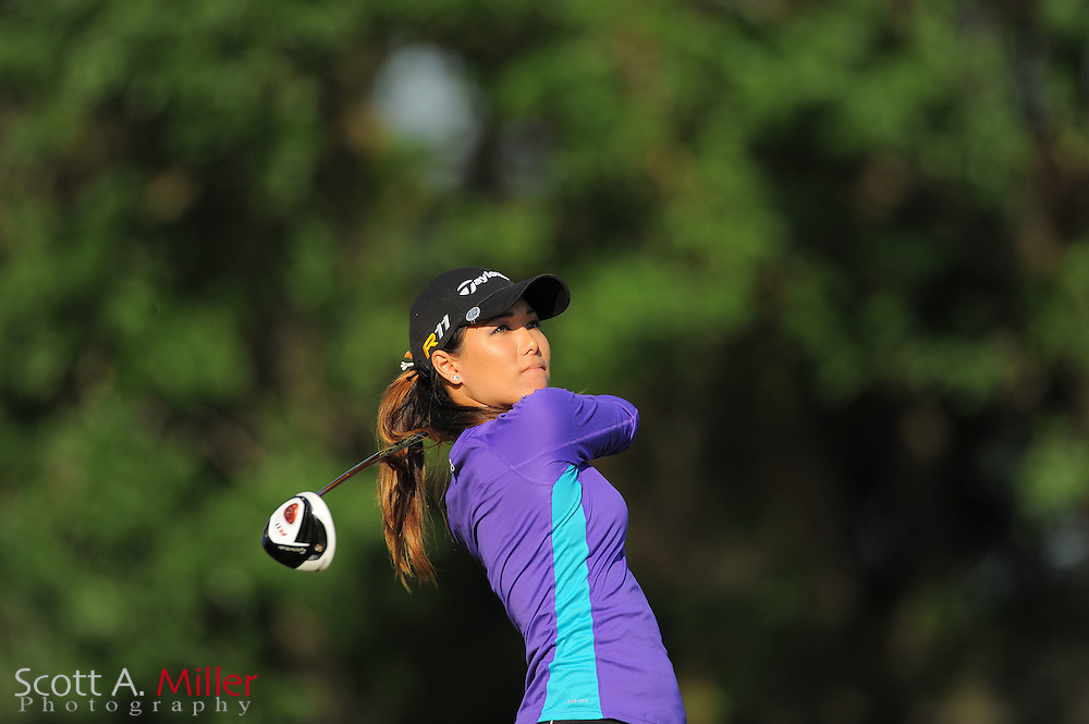 Maiya Tanaka during the second round of the Symetra Tour's Florida's Natural Charity Classic at the Lake Region Yacht and Country Club on March 24, 2012 in Winter Haven, Fla. ..©2012 Scott A. Miller.