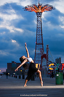 Coney Island Ballerina featuring Sabrina Imamura. Dance as Art.