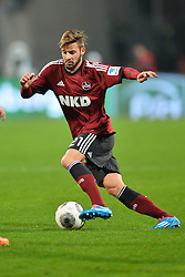 08.03.2014, easyCredit Stadion, Nuernberg, GER, 1. FBL, 1. FC Nuernberg vs SV Werder Bremen, 24. Runde, im Bild Marvin Plattenhardt (1 FC Nuernberg) am Ball Freisteller // during the German Bundesliga 24th round match between 1. FC Nuernberg and SV Werder Bremen at the easyCredit Stadion in Nuernberg, Germany on 2014/03/08. EXPA Pictures © 2014, PhotoCredit: EXPA/ Eibner-Pressefoto/ Merz<br /> <br /> *****ATTENTION - OUT of GER*****