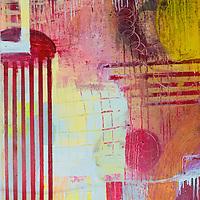 Acrylic and mixed media paintings