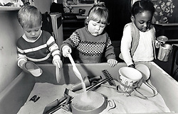 Crabtree play centre, Nottingham, UK 1986