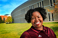 Central Michigan University Admissions counsellor Wendy Davis. Photo part of series of Admissions counselors for Central Michigan University Admissions.