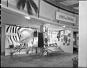23/ 06/1961.06/23/1961.23 June 1961.Kenya and Zanzibar stand at Missionary exhibition at Mansion House. Special for Esso Ltd.