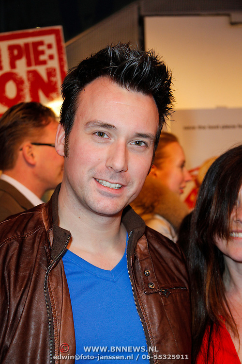 NLD/Amsterdam/20120326 - Inloop premiere American Pie: Reunion, Chris Hordijk