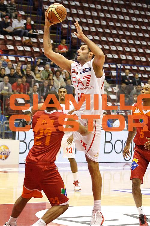 DESCRIZIONE : Milano Lega A 2012-13 EA7 Emporio Armani Milano Acea Virtus Roma<br /> GIOCATORE : Ioannis Bourousis<br /> CATEGORIA : Tiro<br /> SQUADRA : EA7 Emporio Armani Milano<br /> EVENTO : Campionato Lega A 2012-2013<br /> GARA : EA7 Emporio Armani Milano Acea Virtus Roma<br /> DATA : 22/10/2012<br /> SPORT : Pallacanestro <br /> AUTORE : Agenzia Ciamillo-Castoria/G.Cottini<br /> Galleria : Lega Basket A 2012-2013  <br /> Fotonotizia : Milano Lega A 2012-13 EA7 Emporio Armani Milano Acea Virtus Roma<br /> Predefinita :