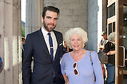 Zachary Quinto and Fionnula Flannagan  at the 25th Galway Film Fleadh. Photo:Andrew Downes