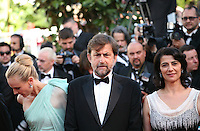 Diane Kruger, Hiam Abbass, Nanni Moretti at the gala screening of the film Moonrise Kingdom at the 65th Cannes Film Festival. Wednesday 16th May 2012, the red carpet at Palais Des Festivals in Cannes, France.