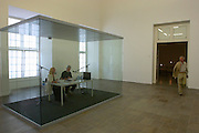 """On Kawara/U.S.A., installation from the epic project """"One Million Years"""" (2002)"""