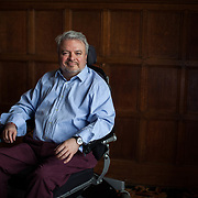Guardian Weekend. Experience. Michael Mccgrath who has muscular distraphy and has visited both north and south pole.