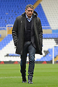 Nottingham Forest Manager Philippe Montanier during the EFL Sky Bet Championship match between Birmingham City and Nottingham Forest at St Andrews, Birmingham, England on 14 January 2017. Photo by Alan Franklin.