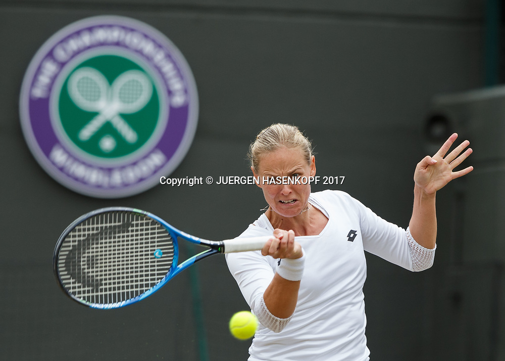 ANNA-LENA GROENEFELD / KVETA PESCHKE, Daman Doppel<br /> <br /> Tennis - Wimbledon 2017 - Grand Slam ITF / ATP / WTA -  AELTC - London -  - Great Britain  - 14 July 2017.