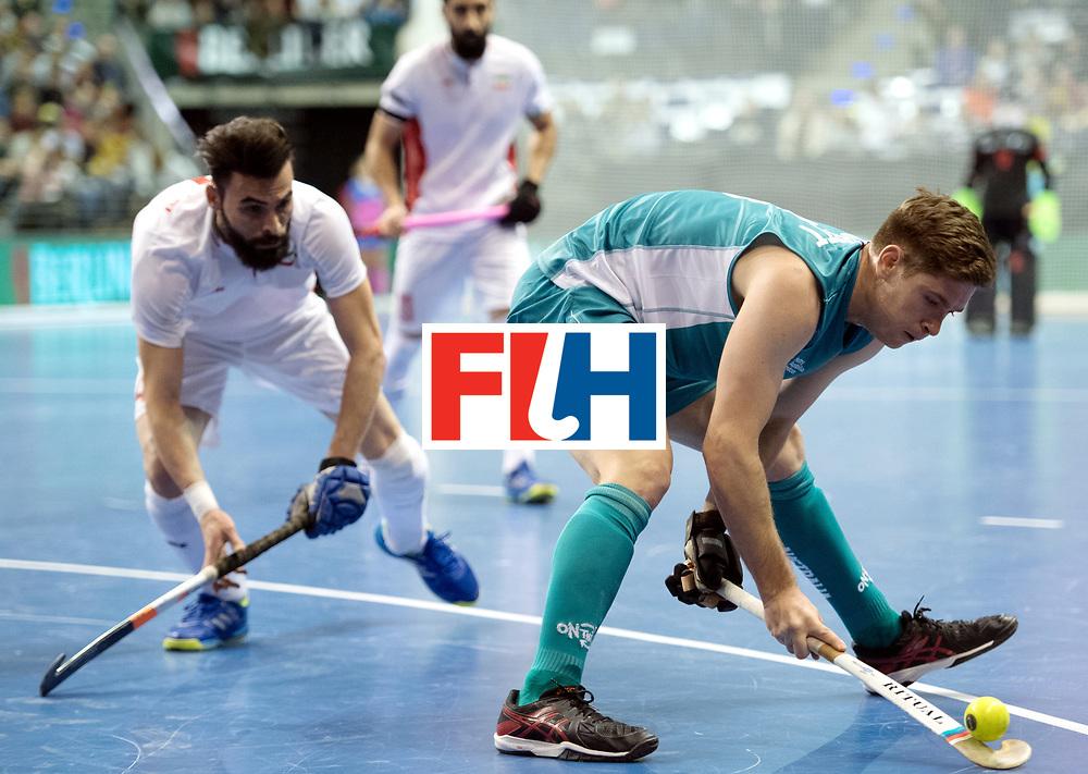 BERLIN - Indoor Hockey World Cup<br /> Bronze: Iran - Australia<br /> foto: Luke Noblett <br /> WORLDSPORTPICS COPYRIGHT FRANK UIJLENBROEK