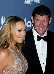 Mariah Carey and James Packer attend the 27th Annual GLAAD Media Awards at The Waldorf Astoria on May 14, 2016 in New York City, NY, USA. Photo y Dennis Van Tine/ABACAPRESS.COM  | 546808_019 New York City Etats-Unis United States