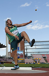 July 10, 2018 - Tampere, Suomi Finland - 180710 Friidrott, Junior-VM, Dag 1: Kyle Bilignaut RSA competes in XXX during the IAAF World U20 Championships day 1 at the Ratina stadion 10. July 2018 in Tampere, Finland. (Newspix24/Kalle Parkkinen) (Credit Image: © Kalle Parkkinen/Bildbyran via ZUMA Press)