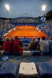 Centre court in 1st round of singles at 25th Vegeta Croatia Open Umag, on July 22, 2014, in Stella Maris, Umag, Croatia. Photo by Urban Urbanc / Sportida
