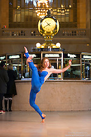 Dance Photography at Grand Central Terminal with Dancer Ashley Whitson