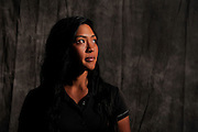 Erika Ilagan during portrait session prior to the second stage of LPGA Qualifying School at the Plantation Golf and Country Club on Oct. 6, 2013 in Vience, Florida. <br /> <br /> <br /> ©2013 Scott A. Miller