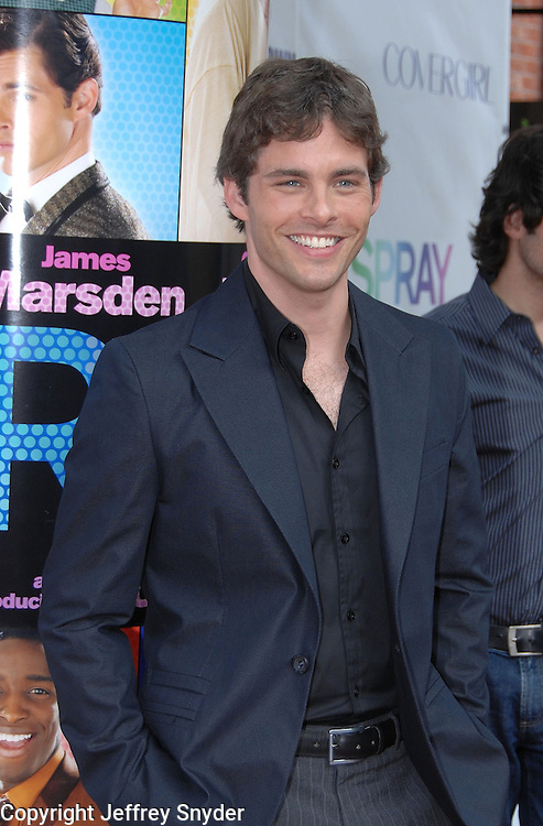 James Marsden attends the Baltimore Premiiere of the new movie Hairspray