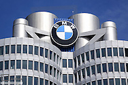 BMW Firmenzentrale, München, Bayern, Deutschland, Europa, BMW Headquarters, Munich, Bavaria, Germany, Europe, BMW, World, Welt, Architecture, Auto, Automobile, Company, Headquarters, Manufacturers, Automotive, Group, Construction, Building, Factory, Industry, Logo, Trademark, Mobility, Upper, Tourist, Attraction, City, Technology, Destination, Landmark, Transportation, Corporate, Modern, Detail, Close-up, Facade, Structure