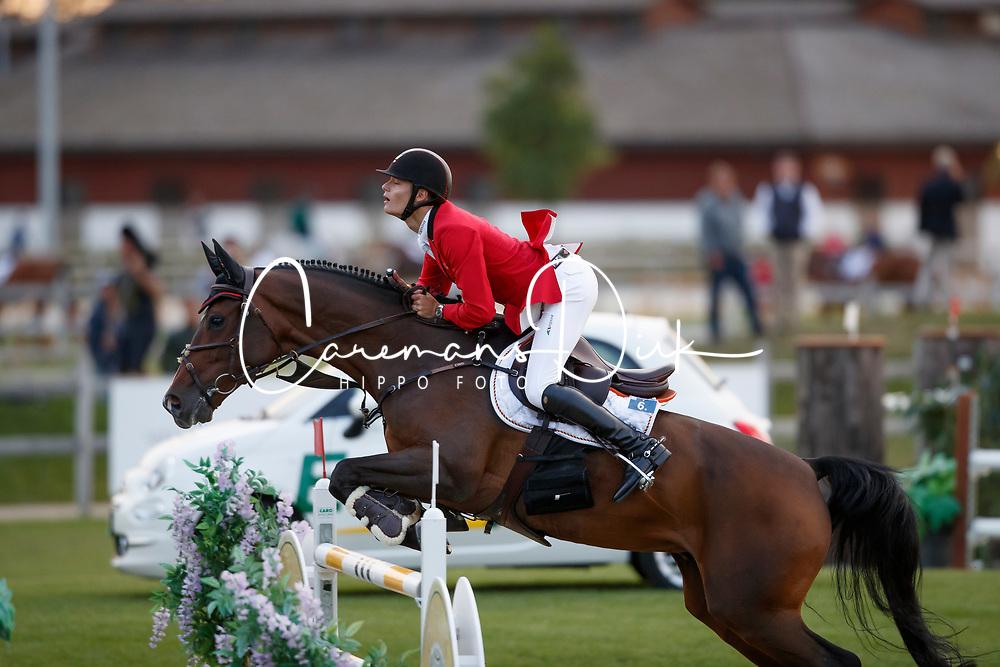 Van Gelderen Boy-Adriaan, BEL, Be Cool<br /> Young Riders European Championships Jumping <br /> Samorin 2017&copy; Hippo Foto - Dirk Caremans<br /> 11/08/2017
