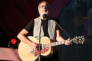 Photo of Yusuf AKA Cat Stevens performing live on stage at Global Citizen Festival in Central Park, NYC on September 24, 2016. © Matthew Eisman. All Rights Reserved