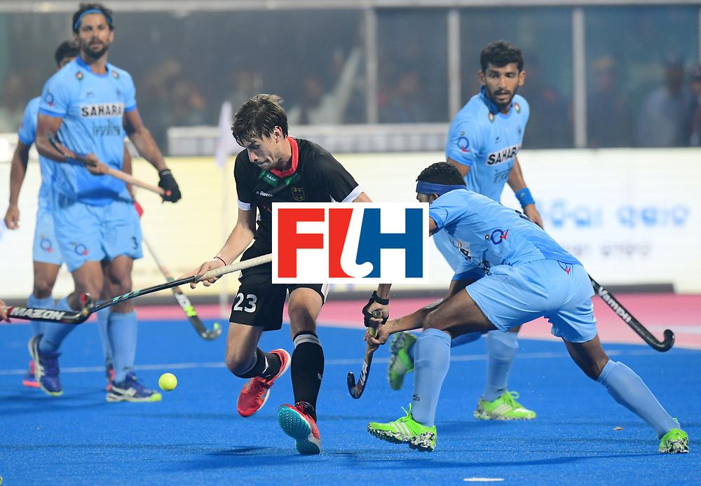 Odisha Men's Hockey World League Final Bhubaneswar 2017<br /> Match id:10<br /> India v Germany<br /> Foto: Florian Fuchs (Ger) <br /> WORLDSPORTPICS COPYRIGHT FRANK UIJLENBROEK