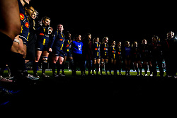Worcester Warriors Women huddle - Mandatory by-line: Robbie Stephenson/JMP - 11/01/2020 - RUGBY - Sixways Stadium - Worcester, England - Worcester Warriors Women v Richmond Women - Tyrrells Premier 15s
