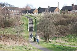 Sandy Banks Nature Area, Bestwood Estate, Nottingham, England.