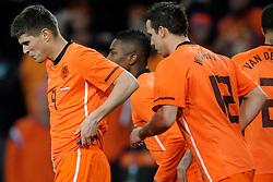 09-02-2011 VOETBAL: NEDERLAND - OOSTENRIJK: EINDHOVEN<br /> Netherlands in a friendly match with Austria won 3-1 / Klaas-Jan Huntelaar NED took his tenth goal in his last six games for 2-0<br /> ©2011-WWW.FOTOHOOGENDOORN.NL
