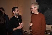 DOUGLAS STEWART; MARTIN BOYCE, GEMS AND LADDERS London Launch & Artist's Talk, 11 Mansfield Street, London. 24 November 2016