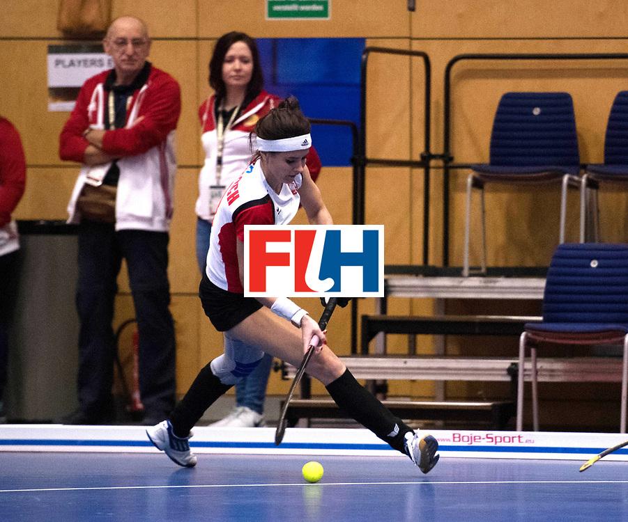 BERLIN - Indoor Hockey World Cup<br /> Poland - Kazachstan<br /> foto: WIELOCH Joanna<br /> WORLDSPORTPICS COPYRIGHT FRANK UIJLENBROEK