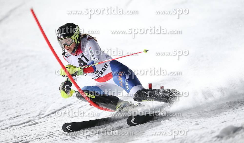 13.01.2015, Hermann Maier Weltcupstrecke, Flachau, AUT, FIS Weltcup Ski Alpin, Flachau, Slalom, Damen, 1. Lauf, im Bild Wendy Holdener (SUI) // Wendy Holdener (SUI) in action during 1st run of the ladie's Slalom of the FIS Ski Alpine World Cup at the Hermann Maier Weltcupstrecke in Flachau, Austria on 2015/01/13. EXPA Pictures © 2015, PhotoCredit: EXPA/ Johann Groder