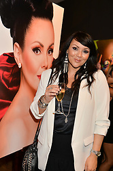 MARTINE McCUTCHEON at the launch of Simply Glamorous by Gary Cockerill held at Alon Fine Art, 5-7 Dover Street, London on 16th September 2015.