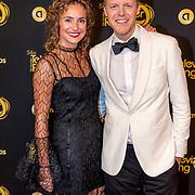 NLD/Amsterdam/20191009 - Uitreiking Gouden Televizier Ring Gala 2019, Lex Uiting en partner Susan