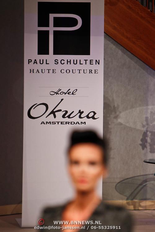 NLD/Amsterdam/20100904 - Modeshow Paul Schulten najaar 2010,