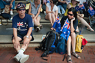 Australia Day 2011 in Darling Harbor, Sydney, Australia.
