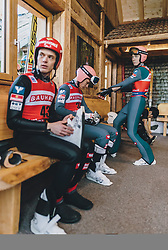18.01.2020, Hochfirstschanze, Titisee Neustadt, GER, FIS Weltcup Ski Sprung, im Bild Philipp Aschenwald (AUT), Daniel Huber (AUT), Jan Hoerl (AUT) // Philipp Aschenwald of Austria Daniel Huber of Austria Jan Hoerl of Austria during the FIS Ski Jumping World Cup at the Hochfirstschanze in Titisee Neustadt, Germany on 2020/01/18. EXPA Pictures © 2020, PhotoCredit: EXPA/ JFK