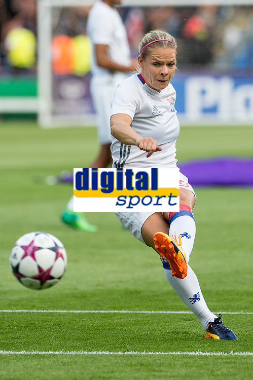 EugÈnie Le Sommer of Olympique Lyon during the UEFA Women's Champions League Final between Lyon Women and Paris Saint Germain Women at the Cardiff City Stadium, Cardiff, Wales on 1 June 2017. Giuseppe Maffia/UK Sports Pics Ltd/Alterphotos<br /> <br /> <br /> Giuseppe Maffia/UK Sports Pics Ltd/Alterphotos
