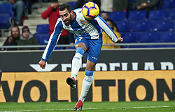 January 4, 2019 - Barcelona, Spain - Borja Iglesias during the match between RCD Espanyol and CD Leganes, corresponding to the week 18 of the Liga Santander, played at the RCDE Stadium on 04th January 2019 in Barcelona, Spain. (Credit Image: © Joan Valls/NurPhoto via ZUMA Press)