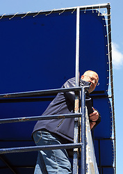 Matjaz Zargi at whale watching boat, when some guys of Slovenian Team were celebrating an anniversary of playing for the team, during IIHF WC 2008 in Halifax,  on May 07, 2008, sea at Halifax, Nova Scotia, Canada. (Photo by Vid Ponikvar / Sportal Images)